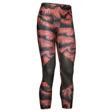 Collant Under Armour Heatgear Print Ankle Crop Corail