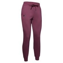 Pantalon Under Armour Femme Rival Fleece Sportstyle Graphic Violet