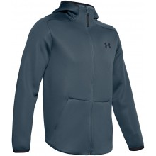 Sweat à Capuche Under Armour Move Zippe Bleu
