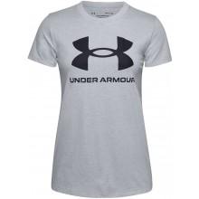 Tee-Shirt Under Armour Femme Live Sportstyle Gris