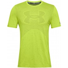 Tee-Shirt Under Armour Big Logo Sans Coutures Jaune