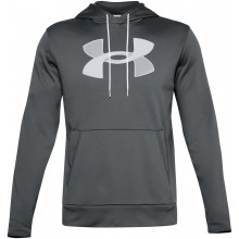 Sweat à Capuche Under Armour Big Logo Gris