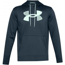 Sweat à Capuche Polaire Under Armour Big Logo Bleu