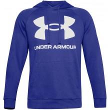 Sweat Under Armour Rival Fleece Big Logo Bleu