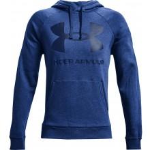 Sweat Under Armour Rival Fleece Big Logo A Capuche Bleu