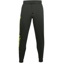 Pantalon Under Armour Jogging Rival Polaire Kaki