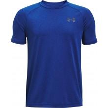Tee-Shirt Under Armour Junior Garçon Tech Bubble Bleu