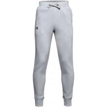 Pantalon Under Armour Junior Garçon Rival Cotton Gris