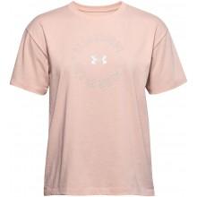 Tee-Shirt Under Armour Femme Live Fashion Rose