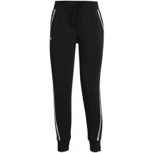 Pantalon Under Armour Femme Rival Terry Taped Noir