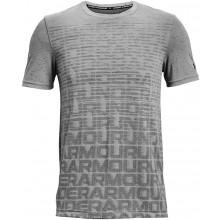 Tee-Shirt Under Armour Seamless Wordmark Gris