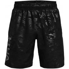 Short Under Armour Woven Embross Noir