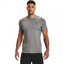 Tee-Shirt Under Armour Heatgear Fitted Gris