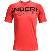 Tee-Shirt Under Armour Tech 2.0 WordMark Rouge