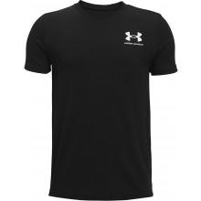 Tee-Shirt Under Armour Junior Garçon Sportstyle Noir