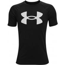 Tee-Shirt Under Armour Junior Garçon Tech Big Logo Noir