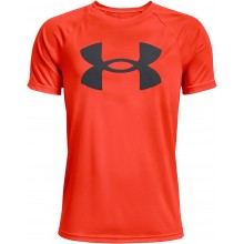 Tee-Shirt Under Armour Junior Garçon Tech Big Logo Orange