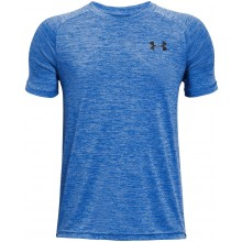Tee-Shirt Under Armour Junior Garçon Tech 2.0 Bleu