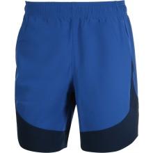 Short Under Armour Hiit Woven Colorblock Bleu