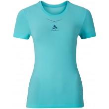 Tee-Shirt Odlo Ceramicool Seamless Femme Bleu
