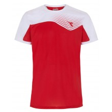 Tee-Shirt Diadora Court Rouge