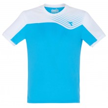 Tee-Shirt Diadora Junior Court Bleu