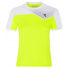Tee-Shirt Diadora Junior Court Jaune