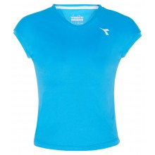 Tee-Shirt Diadora Junior Fille Team Bleu