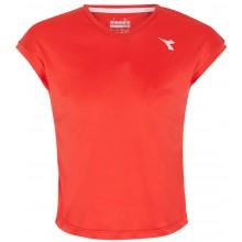 Tee-Shirt Diadora Junior Fille Team Rouge