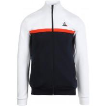 Sweat Le Coq Sportif Zippé Essentials Season N°1 Blanc