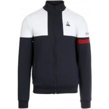Sweat Le Coq Sportif Zippé Tricolore N°1 Marine