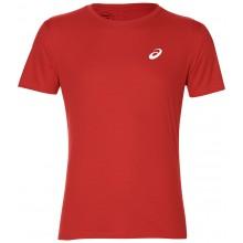 Tee-Shirt Asics Silver Ss Top Rouge