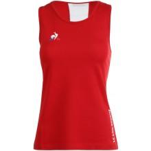 Débardeur Le Coq Sportif Femme Tennis n°4 Rouge