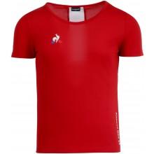 Tee-Shirt Le Coq Sportif Femme Tennis Rouge