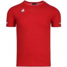 Tee-Shirt Le Coq Sportif Junior Tennis N°3 Rouge