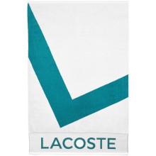 Serviette Lacoste L.20 Blanche