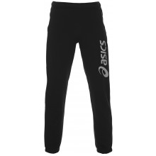 Pantalon Asics Big Logo Coton Noir