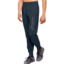 Pantalon Asics Big Logo Coton Bleu