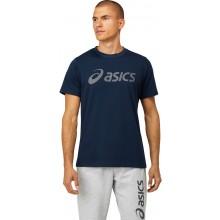 Tee-Shirt Asics Big Logo Bleu