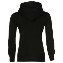 Sweat Asics Femme Zippé Noir