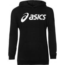 Sweat Asics Fille Big Logo Noir