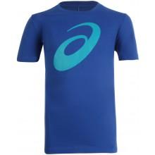 Tee-Shirt Asics Junior Spiral Logo Bleu