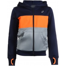 Sweat Asics Junior Fleece FZ Orange