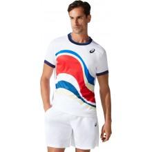 Tee-Shirt Asics Match GPX Paris Blanc