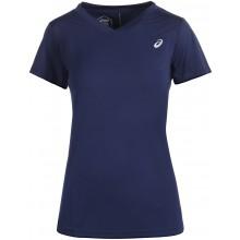 Tee-Shirt Asics Femme Practice Marine