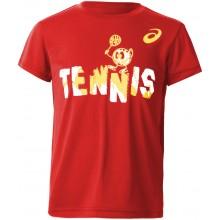Tee-Shirt Asics Junior Club Rouge