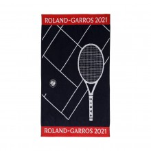 Serviette Joueur Roland Garros 2021 70*105 Cm Marine