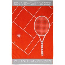 Drap de Plage Joueuse Roland Garros 2021 102*178 Cm Orange