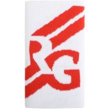 Serre-Poignets Roland Garros Double Largeur Performance Blanc