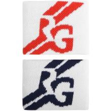 Serre-Poignets Roland Garros Performance Blancs